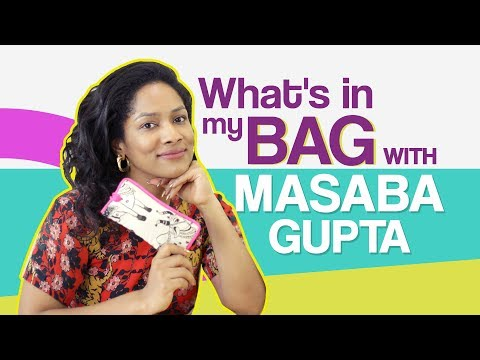 Masaba Gupta: What's in my bag | Fashion | Bollywood | Pinkvilla