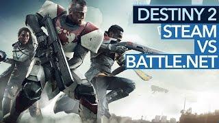Destiny 2 auf PC nur über Blizzard App - Warum der Shooter nicht auf Steam gehört