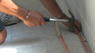 Installing Carpet: Tack Stripping & Transitions