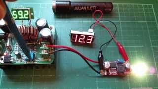 Fake LM2596HV Voltage Regulator Buck Converter Modules bought on eBay