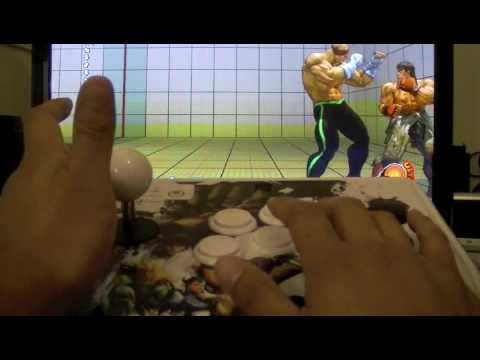 Street Fighter IV Square Gate Dragon Punch Technique Tutorial