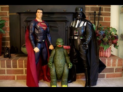 Jakks Pacific Darth Vader and Superman Giant Size Review HD