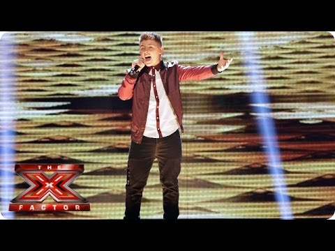 Nicholas Mcdonald Sings Greatest Day By Take That - Live Week 8 - The X Factor 2013 video