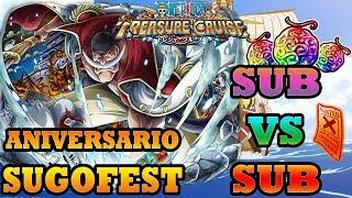 ANIVERSARIO SUGOFEST! SUB VS SUB | One Piece Treasure Cruise (GLOBAL)