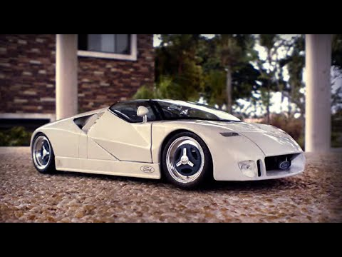 Ford Gt90 Concept '95 - 1/18 DIECAST - YouTube