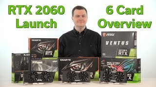 RTX 2060 - The New 1080p Gaming King? - 6 Cards Unboxed - Comparison & Overview