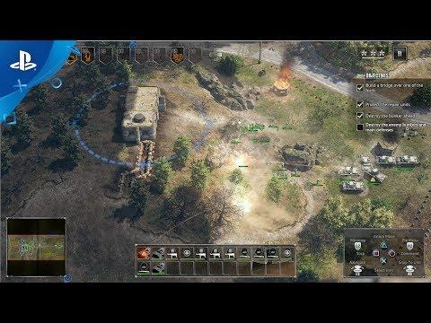 Sudden Strike 4 - PlayStation 4 Gameplay Trailer | PS4