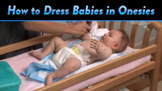 How to Dress Babies in Infant Onesies | CloudMom