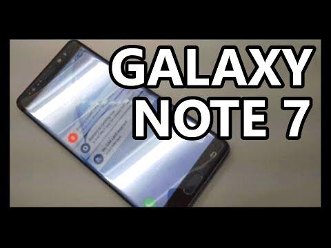 Samsung Galaxy NOTE 7 - Características y Precio!
