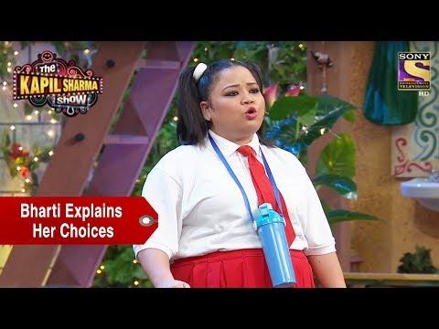 Bharti Explains Her Choices As A Kid - The Kapil Sharma Show thumbnail