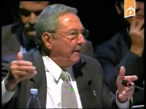 Hablé con Calderón sobre la violencia en México desde 2008: Raúl Castro