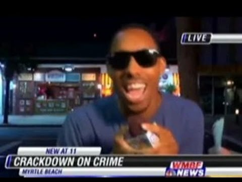 'I'm That N****r!' Man Arrested For Interrupting Live News Report