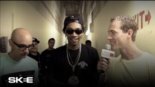 Wiz Khalifa & Berner Launch New Clothing Line Freshko at DJ Skees Store Tradition