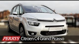 New 2014 Citroen Grand C4 Picasso Exclusive Review and Test Drive