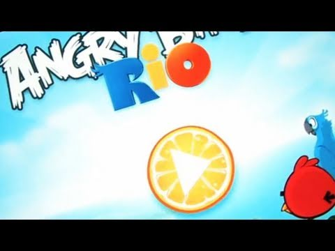 Classic Game Room - Angry Birds Rio Ipad Review video