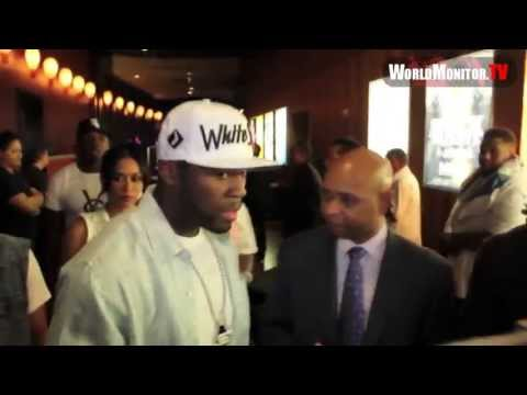 Adam Sabbagh, Kevin Hart, 50 Cent and Floyd Mayweather at Rain, Palms Las Vegas