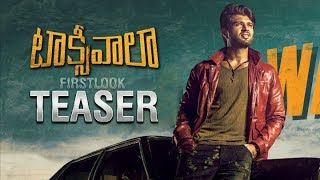 Vijay Devarakonda's Taxiwaala Moiton Teaser | Taxiwala Movie Teaser | Latest Telugu Movie Teaser
