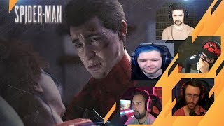 Gamers Reactions to the Tragic ENDING | Marvel's Spider-Man