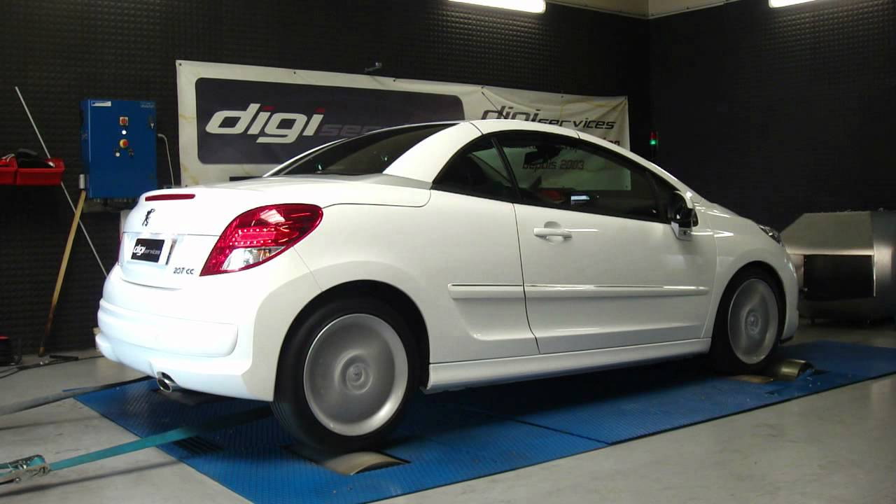 reprogrammation moteur peugeot 207 cc hdi 112cv 137cv dyno digiservices youtube. Black Bedroom Furniture Sets. Home Design Ideas