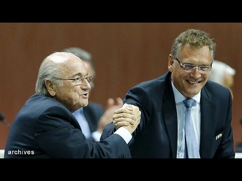 Sepp Blatter announces resignation as FIFA president