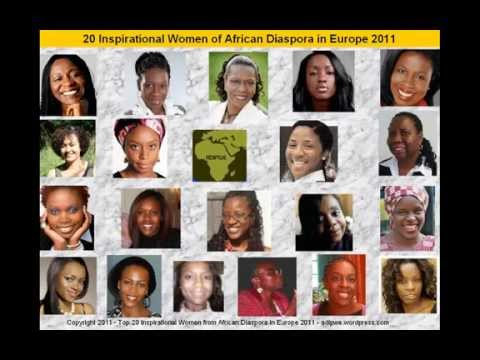 20 Inspirational Women of African Diaspora in Europe - 2011 list