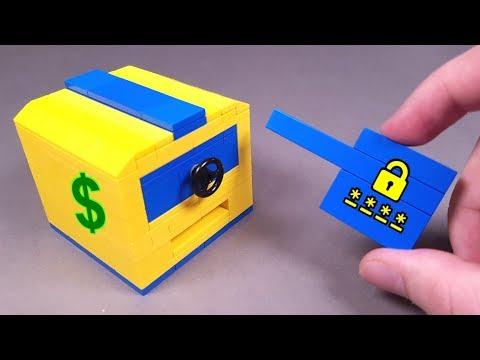 Как сделать Карточный Сейф из ЛЕГО !