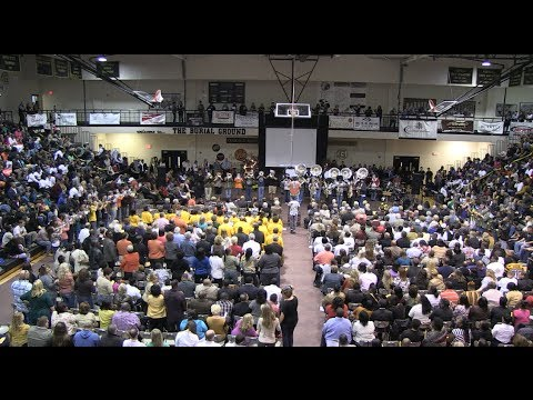 Gaffney High School Homecoming Assembly 2013