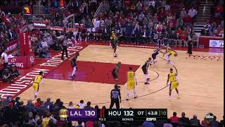 Brandon Ingram ties it 132-all in OT with under 40 seconds remaining - ABC