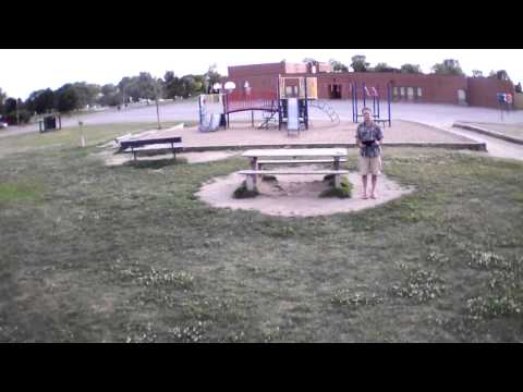 AR Drone 2.0 test flight with battery powered WiFi Extender