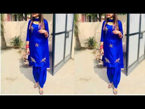 Beautiful Punjabi Suits Design!!  Latest Punjabi suits design idea For girls!!Punjabi Dresses Design