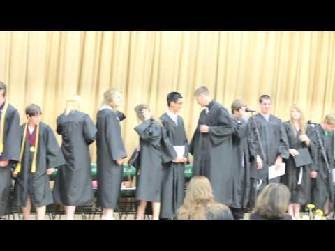 Green Lake High School graduation