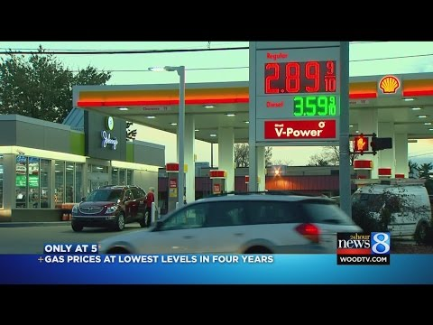 Gas price average below $3; could keep falling