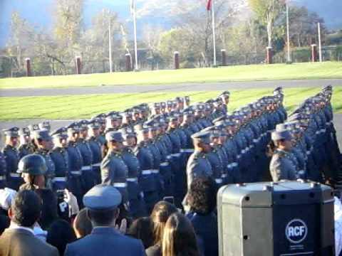 Desfile de la Escuela de Suboficiales.