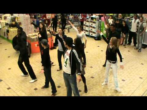 AJDS flash mob a carrefour sens voulx