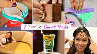 7 DIWALI Hacks You MUST Try - Decoration Ideas | #LifeHacks #Fun #Anaysa