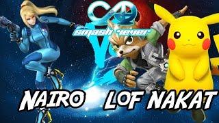 LoF NAKAT (Pika/Fox) vs Nairo (ZSS) - Smash 4-Ever 18
