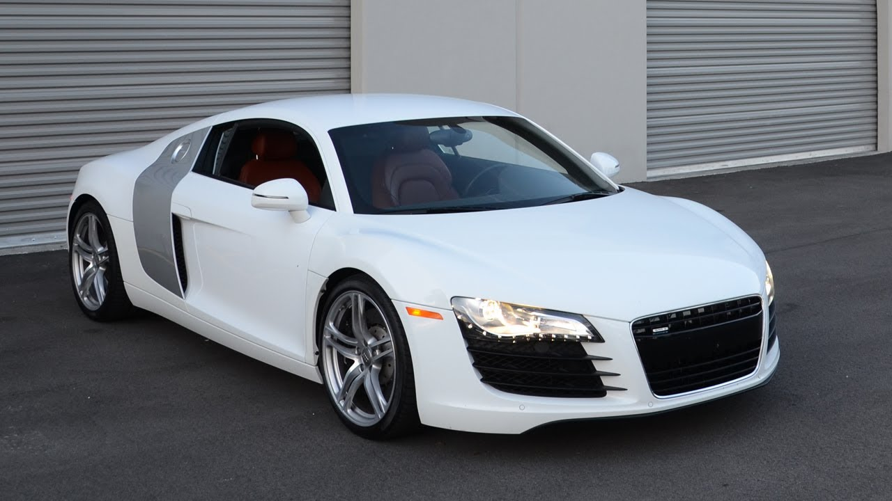 Picking up my new Audi R8 - YouTube