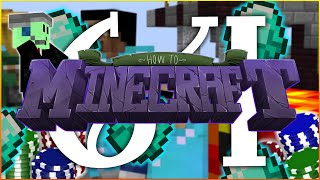 """How To Minecraft SMP : """"CASINO POKER GAMBLING"""" : Episode 64"""