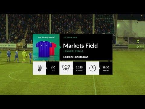 HIGHLIGHTS: Limerick FC v Bohemian FC (24/02/18)