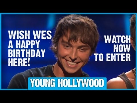 Wish Emblem3's Wesley Stromberg a Happy Birthday!