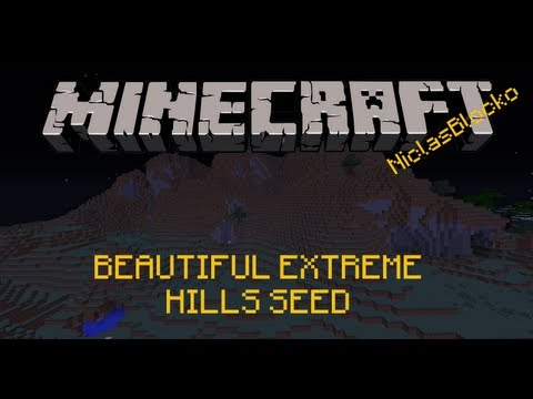 MINECRAFT SEED: BEAUTIFUL EXTREME HILLS