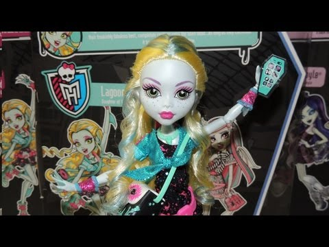 Monster High Ghouls Night Out Lagoona Blue Doll Review by WookieWarrior23
