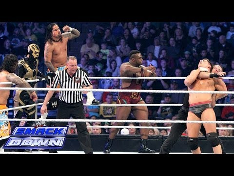 10-man Tag Team Match: Smackdown, Jan. 24, 2014 video