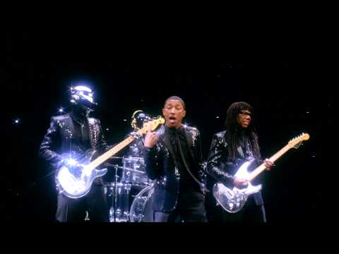 Daft Punk Pharrell &quot;Get Lucky&quot; SNL Ad