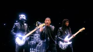 "Pharrell Video - Daft Punk Pharrell ""Get Lucky"" SNL Ad"