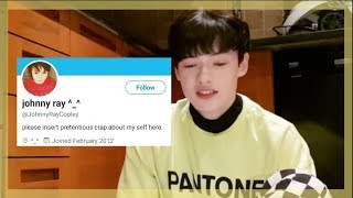 Reacting to my old Twitter account *CRINGE*