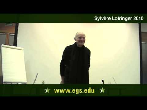 Sylvère Lotringer.  Art, Politics & Consumerism. 2010.