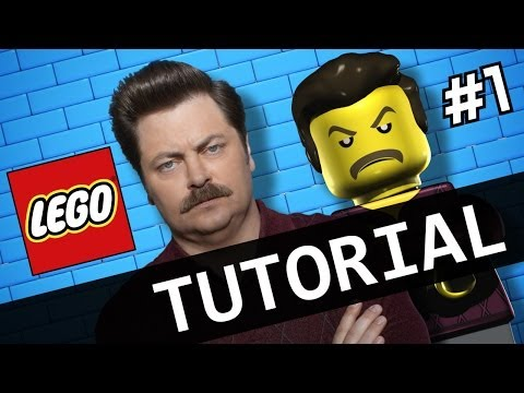 Watch Me Make LEGO Ron Swanson - Tutorial Part 1/2
