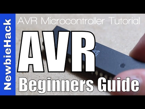 Microcontrollers - A Beginner's Guide - Intro to the AVR Atmega32