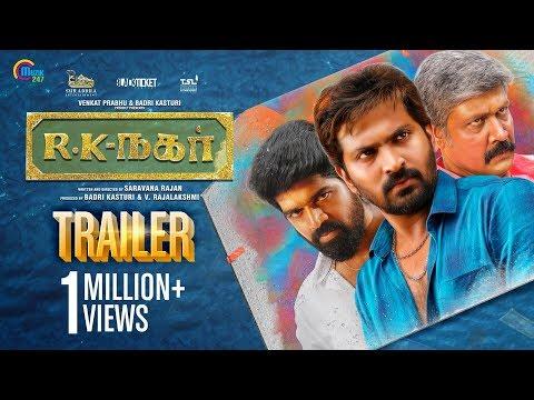 R K Nagar - Official Trailer | Vaibhav | Venkat Prabhu | Premgi Amaran | Saravana Rajan
